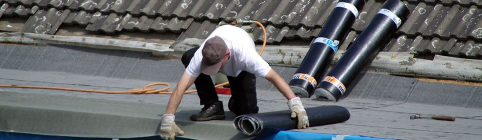dakdekker plat dak